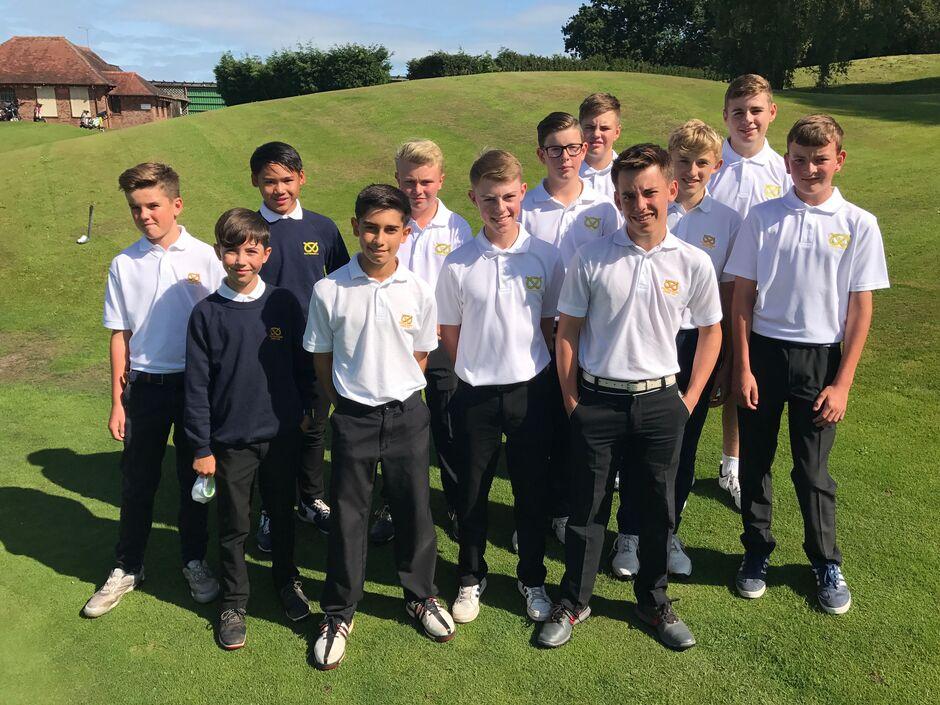 Staffs Under 14's v Shropshire