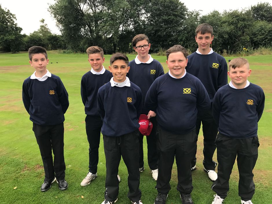 Staffordshire Under 14's Midland 4 Counties Team