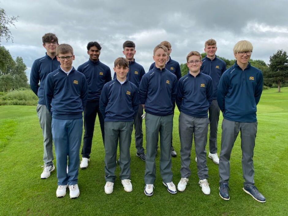 Staffs Under 16 Team v Warwickshire 4th July 2021