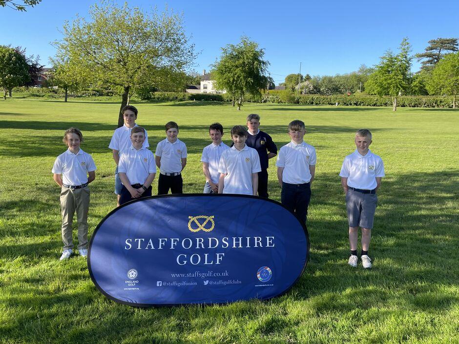Staffordshire Under 14 Boys v Derbyshire May 2021